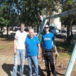 Tornano le altalene al Parco Manaresi