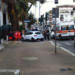 Incidente al centro di Aprilia all'incrocio tra via delle Margherite e via Matteotti