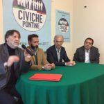 """Le """"Civiche Pontine"""" scendono in campo in vista delle provinciali"""