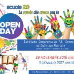 Open Day all'Istituto Comprensivo Antonio Gramsci
