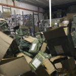 Nuovo sequestro di materiale contraffatto da parte delle Fiamme Gialle
