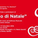 """Si rinnova l'appuntamento con il Concerto di Natale della """"Gramsci"""""""