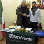 Daniele Borace presidente apriliano di Fare Verde