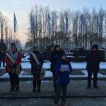 Gli studenti di Aprilia oggi ad Auschwitz e Birkenau