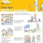 I consigli della Protezione Civile su cosa fare in caso di terremoto