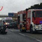 Incidente sulla Pontina in direzione Roma, traffico in tilt con code