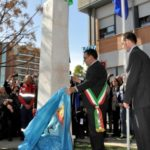Terzo anniversario dell'inaugurazione del monumento alla memoria del tenente Eric Fletcher Waters