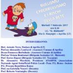 """""""Bullismo, cyberbullismo e i rischi della rete"""": domani l'incontro alla """"Matteotti"""""""