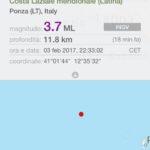 La terra continua a tremare: nuova scossa a Ponza