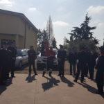 I Carabinieri del Reparto Territoriale di Aprilia riuniti in una celebrazione pre pasquale