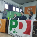 Convegno Primarie PD: Moscardelli, Calcagnini e Visari ad Aprilia