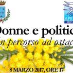 """""""Donne e politica un percorso ad ostacoli"""""""