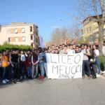 """Il """"Meucci"""" in piazza contro le mafie"""