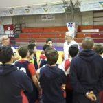 Allenamento speciale per i giovani della Virtus Basket