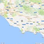 Scossa di terremoto nella Provincia di Latina