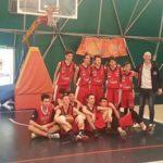 L'Under 16 della Virtus Basket festeggia i play-off