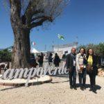 La Presidente della Provincia il visita alla Fiera di Campoverde