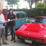 Tra Fiat Abarth, Giulia Biscione e Ferrari: la mostra d'auto d'epoca al quartiere Toscanini