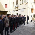 Il saluto del Generale Agovino al Comando Provinciale prima del nuovo incarico