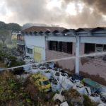 Aggiornamenti sull'incendio allo stabilimento Eco X di Pomezia