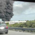 Incendio in zona Ardea, possibili problemi sulla Pontina verso Roma