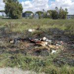 """Le autorità rassicurano: """"Nell'incendio di Sacida non c'era eternit"""""""