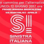 """Congresso Costitutivo del circolo """"Cosimo Bufano"""" di Sinistra Italiana di Aprilia"""