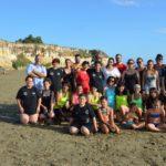 Palestra Selciatella di Aprilia al II° Martial Aerobic on the beach