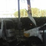 Auto incendiate in Via Francia: la reazione dei cittadini