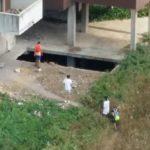 Palazzi ex Canebi senza controlli: alcuni ragazzi sorpresi nel cortile