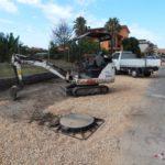 Lavori in zona Gattone: stamattina sopralluogo di Sindaco ed Assessore