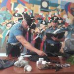 Arrestato un 42 enne di Roma in possesso di droga e armi