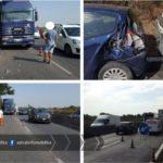 Incidente con due mezzi pesanti coinvolti, Pontina bloccata in direzione sud