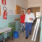 Anche la scuola di Campo del Fico in fase di ristrutturazione