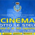 """Successo di pubblico per il secondo appuntamento del """"Cinema sotto le stelle"""""""