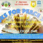 """Premiazione """"Books for Peace"""" e premio """"Javier Valdez"""" ad Aprilia il 16 settembre"""