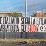 Il Blocco Studentesco contro il Ministro Fedeli