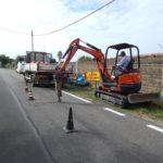 Partiti i lavori per le nuove condutture di gas in Via delle Salzare