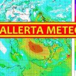 Allerta meteo, Protezione Civile dichiara il codice arancione per oggi.
