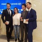 L'apriliano Axel Trolese tra i premiati ad Italia Giovane 2017