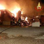 Incendio nella notte a Fossignano