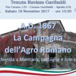 La Campagna dell'Agro Pontino rievocata il prossimo 18 novembre