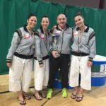 Le ragazze d'Oro del Centro Sportivo Aprilia