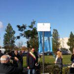 Inaugurata in Via Francia la targa contro il femminicidio