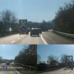 Cantiere sulla Pontina, rallentamenti verso Roma
