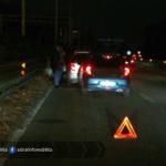 Incidente con tre auto, problemi sulla Pontina