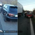 Ancora problemi sulla Pontina: incidente a Tor De' Cenci