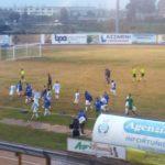 L'Aprilia rimontata ad Anzio, 1-1 il finale. Tensione negli spogliatoi a fine gara