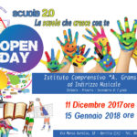 "Open Day all'Istituto Comprensivo ""Antonio Gramsci"""