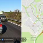 Incidente a Tor De' Cenci, traffico bloccato verso Roma